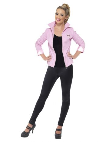 Grease Deluxe Pink Ladies Jacket, Pink
