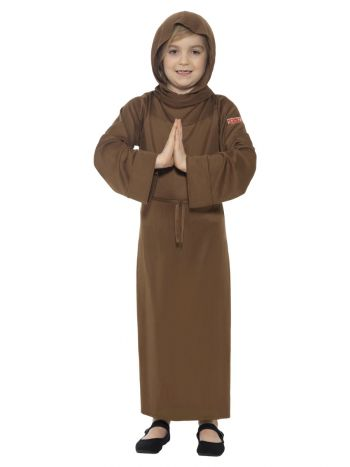 Horrible Histories Monk Costume, Brown