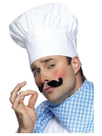 Chef Hat, White