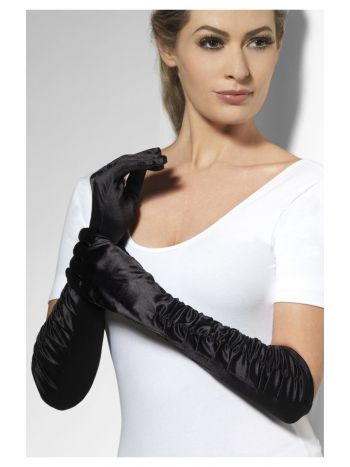 Temptress Gloves, Black
