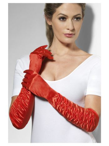 Temptress Gloves, Red