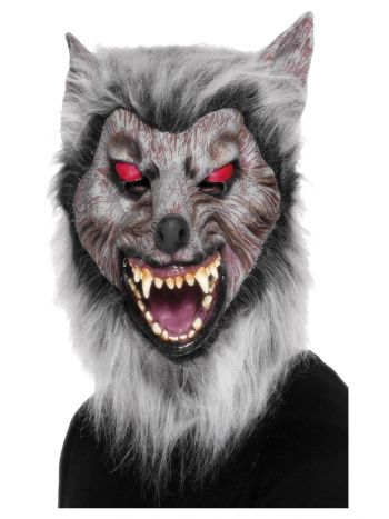 Prowler Wolf Mask, Grey