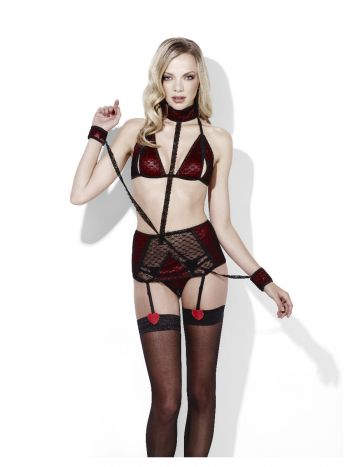 Fever Sweetheart, Be Mine, Collar & Cuffs Set