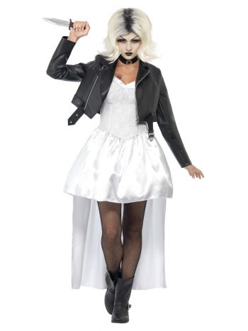 Bride of Chucky, Tiffany Costume, White