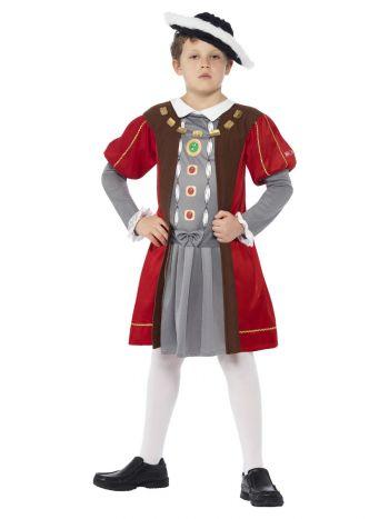 Horrible Histories Henry VIII Costume, Red
