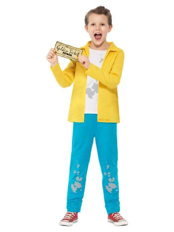 Roald Dahl Charlie Bucket Costume, Yellow