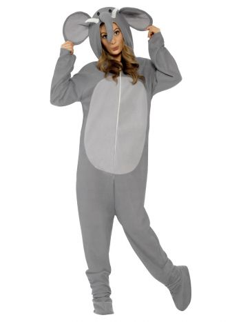 Elephant Costume, Grey