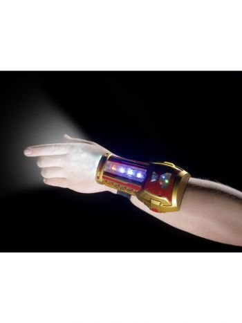 Superhero Flashing Wristband, Blue