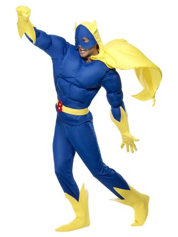 Bananaman Padded Costume, Blue