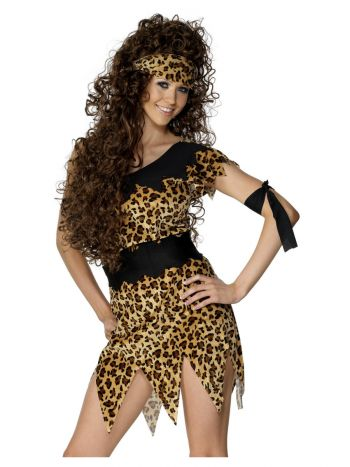 Cavewoman Costume, Brown