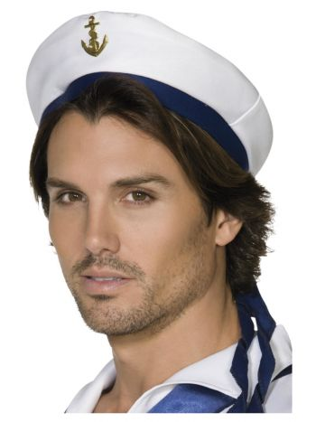 Sailor Hat, White