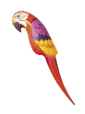 Parrot, Red, Orange & Yellow