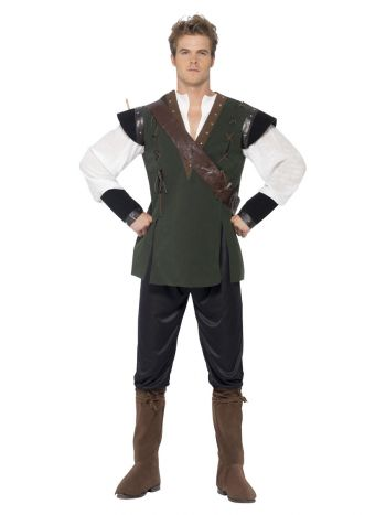Robin Hood Costume, Green