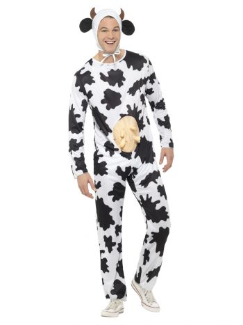 Cow Costume, Black & White
