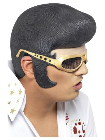 Elvis Headpiece, Black