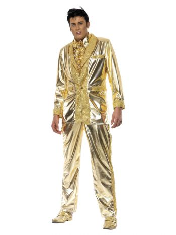Elvis Costume, Gold