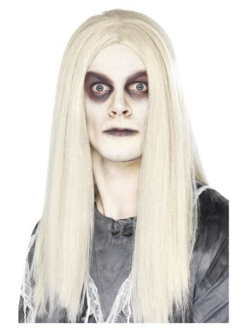 Ghost Town Indian Style Wig, Grey
