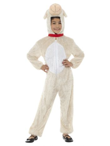 Lamb Costume, Cream