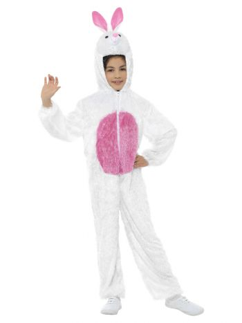 Bunny Costume, White