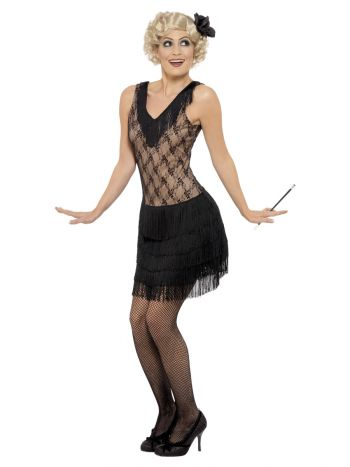 All That Jazz Flapper Costume, Black