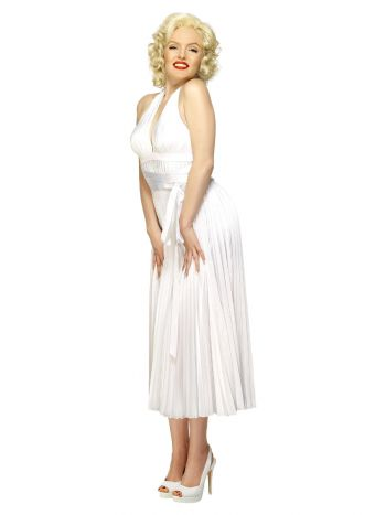 Marilyn Monroe Costume, White