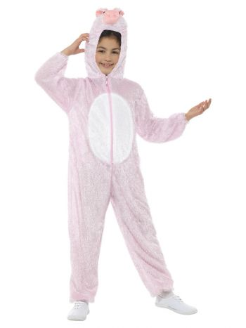 Pig Costume, Pink
