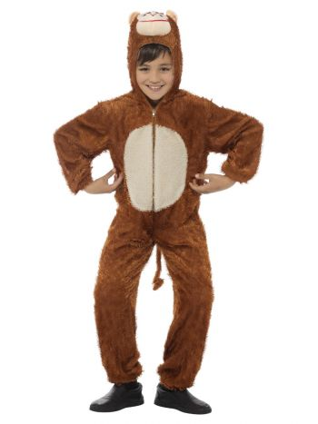 Monkey Costume, Brown