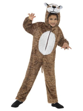 Tiger Costume, Brown