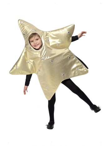 Christmas Star Costume, Gold