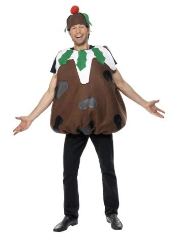 Christmas Pudding Costume, Brown