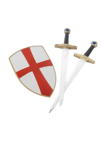 Knight Crusader Set, White