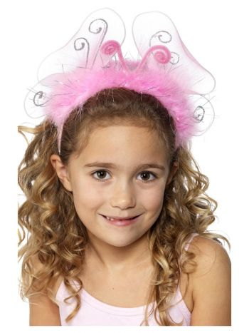 Girl's Flashing Headband, Pink