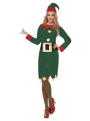 Elf Costume, Green