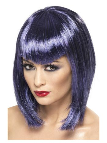 Vamp Wig, Purple