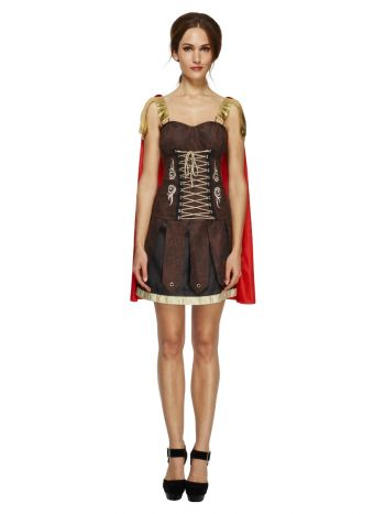 Fever Gladiator Costume, Brown