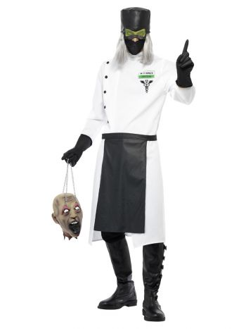 Dr D.Ranged Costume, White