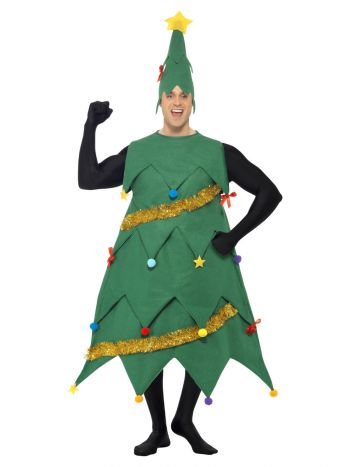 Christmas Tree Costume, Green