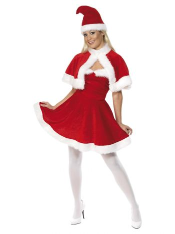 Miss Santa Costume, Red