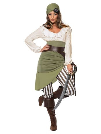 Shipmate Sweetie Costume, Green