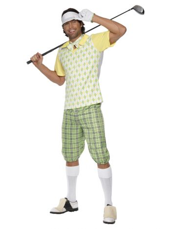 Gone Golfing Costume, Green