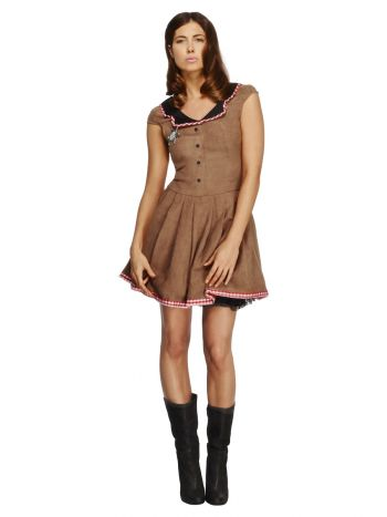 Fever Wild West Costume, Brown