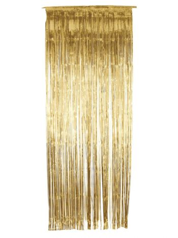 Shimmer Curtain, Gold
