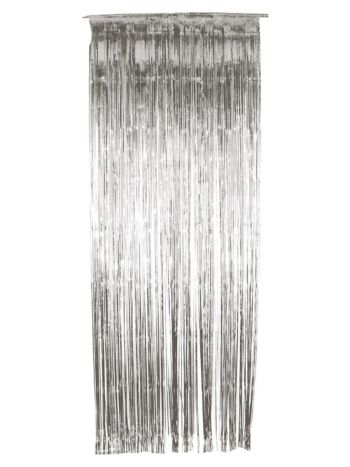 Shimmer Curtain, Silver