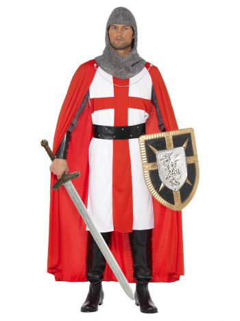 St George Hero Costume, Red