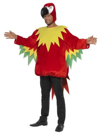 Parrot Costume, Red