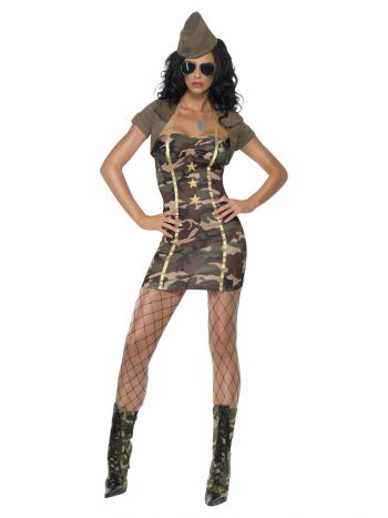 Major Trouble Costume, Camouflage