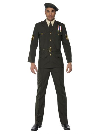 Wartime Officer, Green