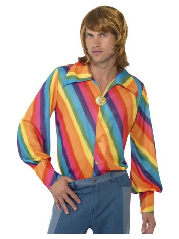 70s Colour Shirt, Rainbow