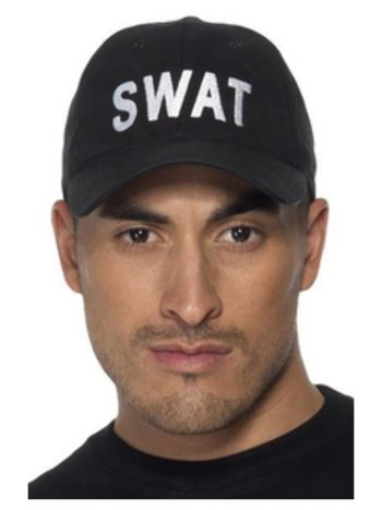 SWAT Baseball Cap, Black