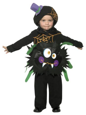Crazy Spider Costume, Black
